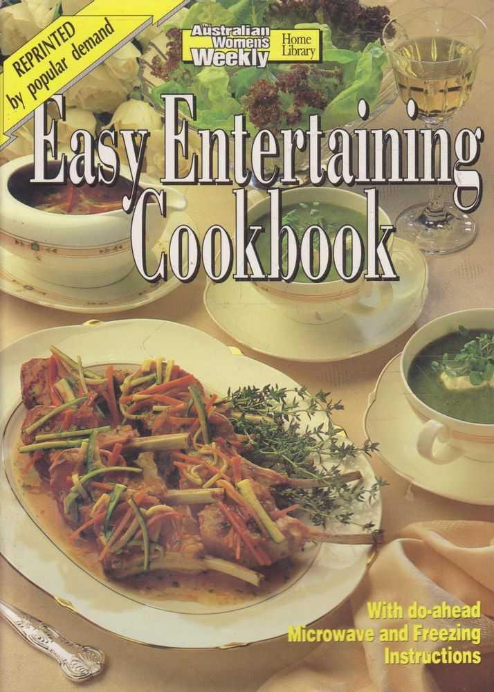 The Australian Women's Weekly Cookbooks - Easy Entertaining Cookbook, Pamela Clark
