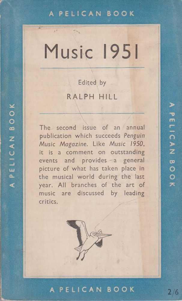 Music 1951, Ralph Hill