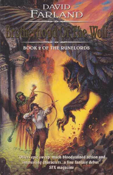 Brotherhood of the Wolf [Book Two of the Runelords], David Farland