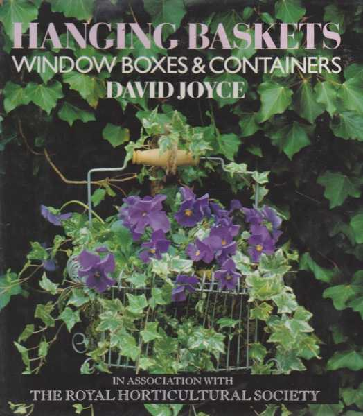 Hanging Baskets, Window Boxes & Containers, David Joyce