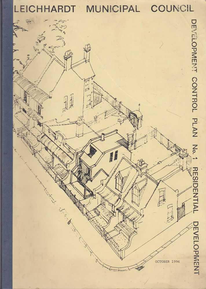 Leichhardt Municipal Council Development Control Plan No. 1 Residential Development