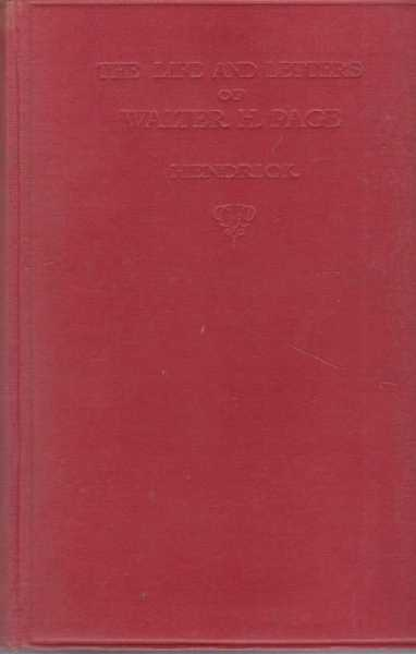 The Life and Letters of Walter H. Page, Burton J. Hendrick