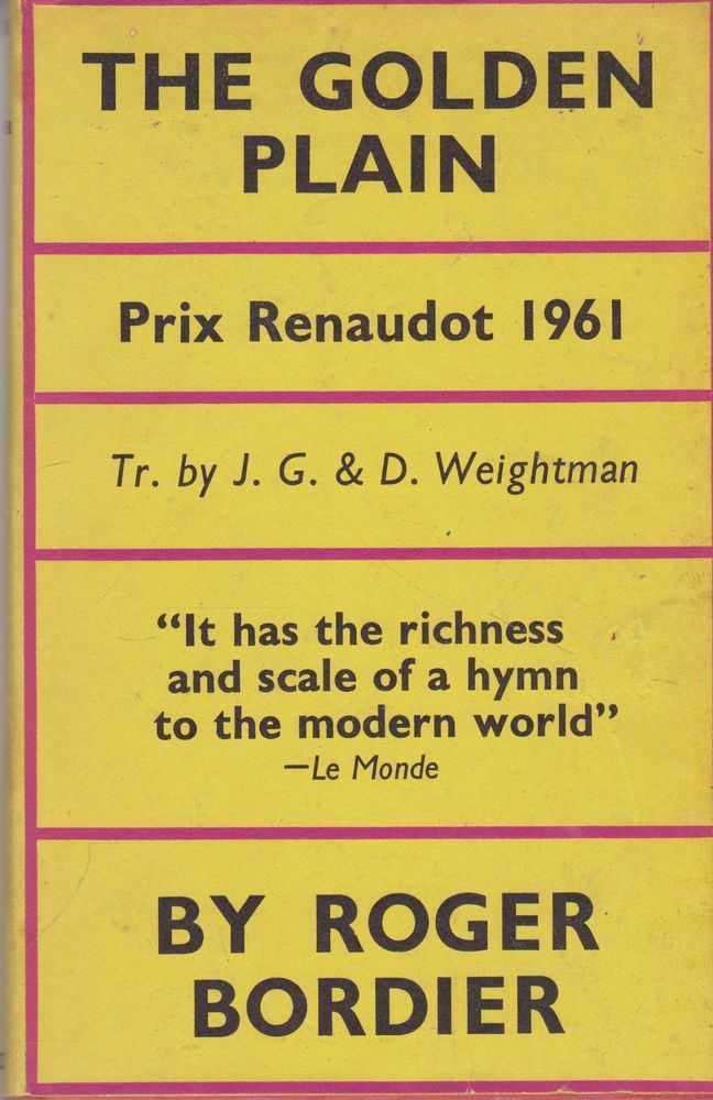 The Golden Plain, Roger Bordier