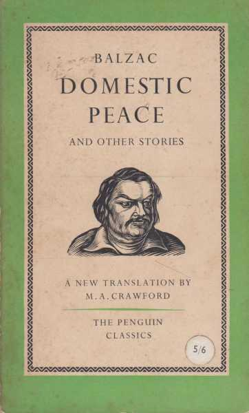 Domestic Peace and Other Stories, Honore de Balzac