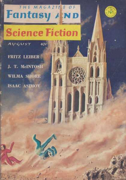The Magazine of Fantasy and Science Fiction Volume 27, No. 2 Whole No. 159 August 1964, Joseph A. Ferman [Publisher], Isaac Asimov [Science Editor], Avram Davidson [Executive Editor], Edward L. Ferman [Managing Director]