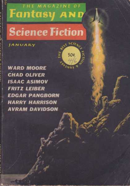The Magazine of Fantasy and Science Fiction Volume 28, No. 1 Whole No. 164 Jan 1965, Joseph A. Ferman [Publisher], Isaac Asimov [Science Editor], Avram Davidson [Executive Editor], Edward L. Ferman [Managing Director]