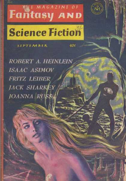 The Magazine of Fantasy and Science Fiction Volume 25, No. 3 Whole No. 148 Sept 1963, Joseph A. Ferman [Publisher], Isaac Asimov [Science Editor], Avram Davidson [Executive Editor], Edward L. Ferman [Managing Director]