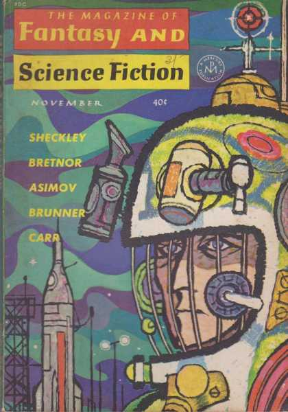 The Magazine of Fantasy and Science Fiction Volume 23, No. 5 Whole No. 138 Nov 1962, Joseph A. Ferman [Publisher], Isaac Asimov [Science Editor], Avram Davidson [Executive Editor], Edward L. Ferman [Managing Director]