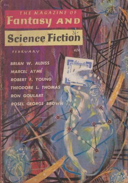 The Magazine of Fantasy and Science Fiction Volume 20, No. 2 Whole No. 117 Feb 1961, Joseph A. Ferman [Publisher], Isaac Asimov [Science Editor], Avram Davidson [Executive Editor], Edward L. Ferman [Managing Director]