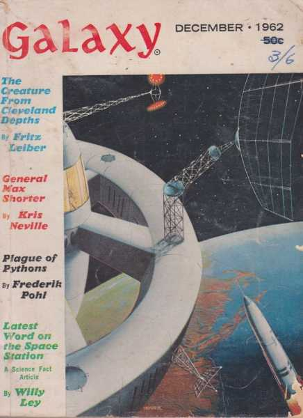 Galaxy December 1962 Vol 21 No. 2, Frederik Pohl [Editor]