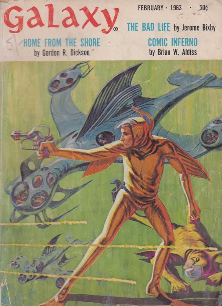 Galaxy December February 1963 Vol 21 No.3, Frederik Pohl [Editor]