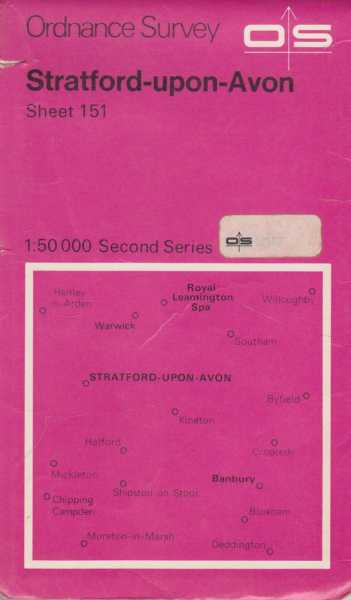 Ordnance Survey: Stratford-Upon-Avon Sheet 151[1:50 000 Second Series], Ordnance Survey Southhampton