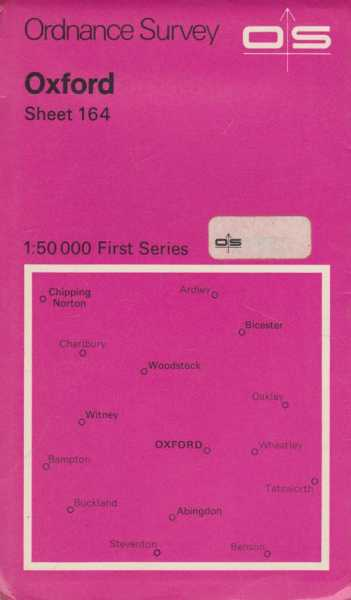 Ordnance Survey: Oxford 164 [1:50 000 First Series], Ordnance Survey Southhampton