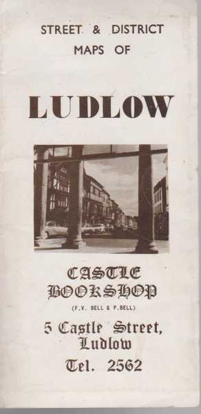 Street & District Maps Of Ludlow, Viking Publicity