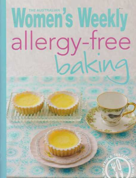 Alergy-Free Baking, The Australian Women's Weekly