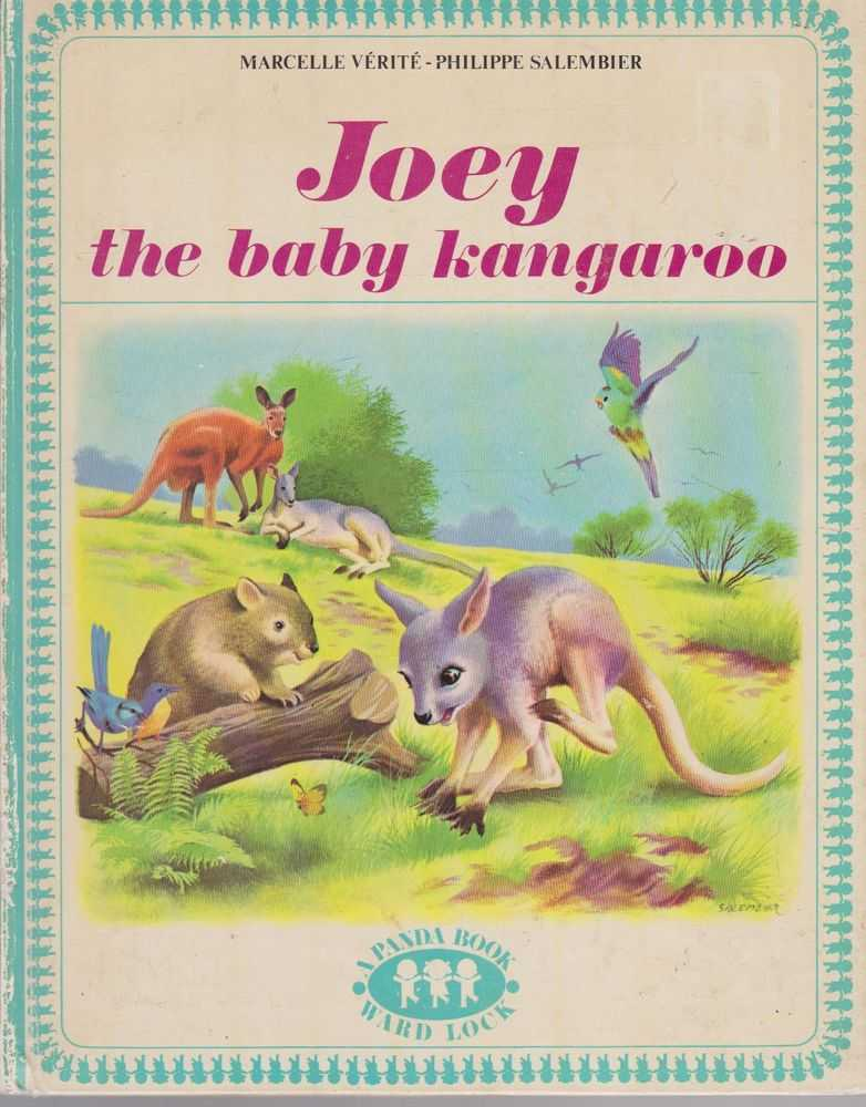 Joey the Baby Kangaroo, Marcelle Verite,