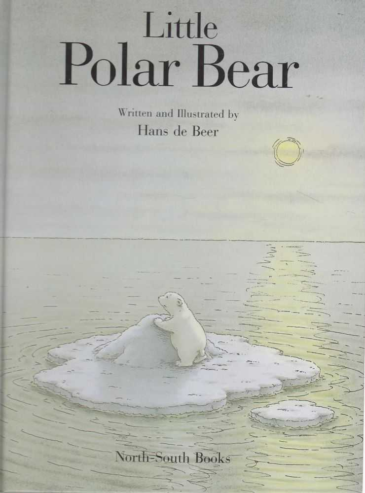 Little Polar Bear, Hans de Beer
