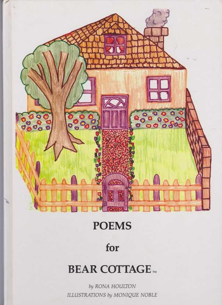 Poems For Bear Cottage, Rona Houlton