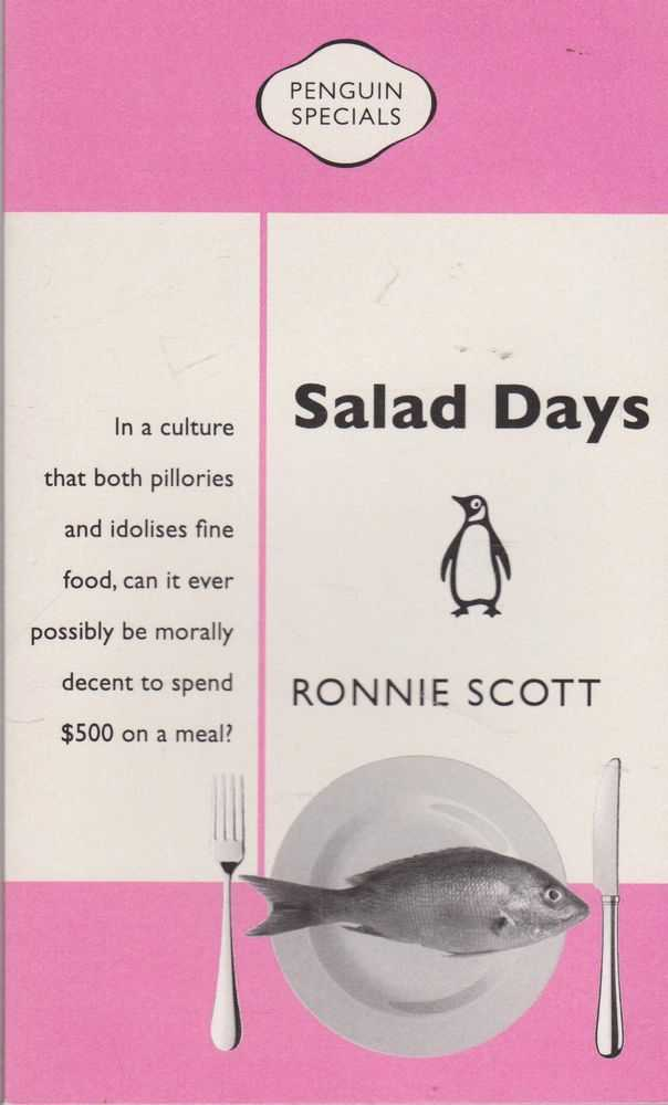 Salad Days, Ronnie Scott