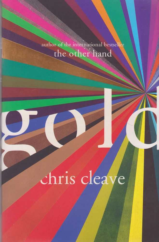 Gold, Chris Cleave