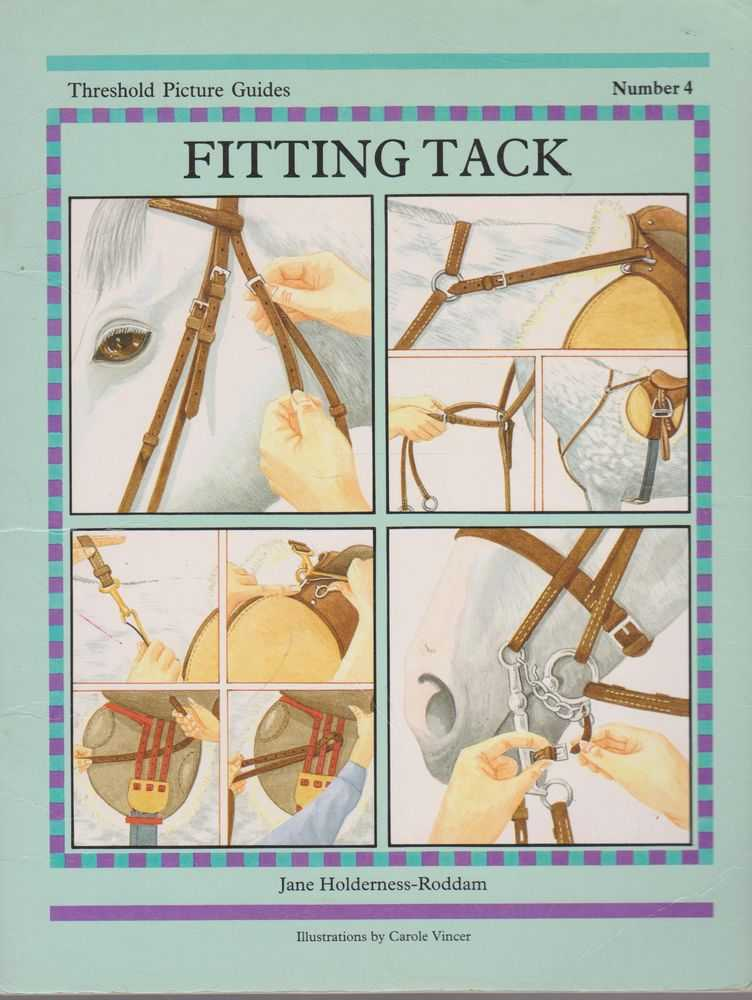 Fitting Tack Number 4 [Threshold Picture Guides], Jane Holderness-Roddam