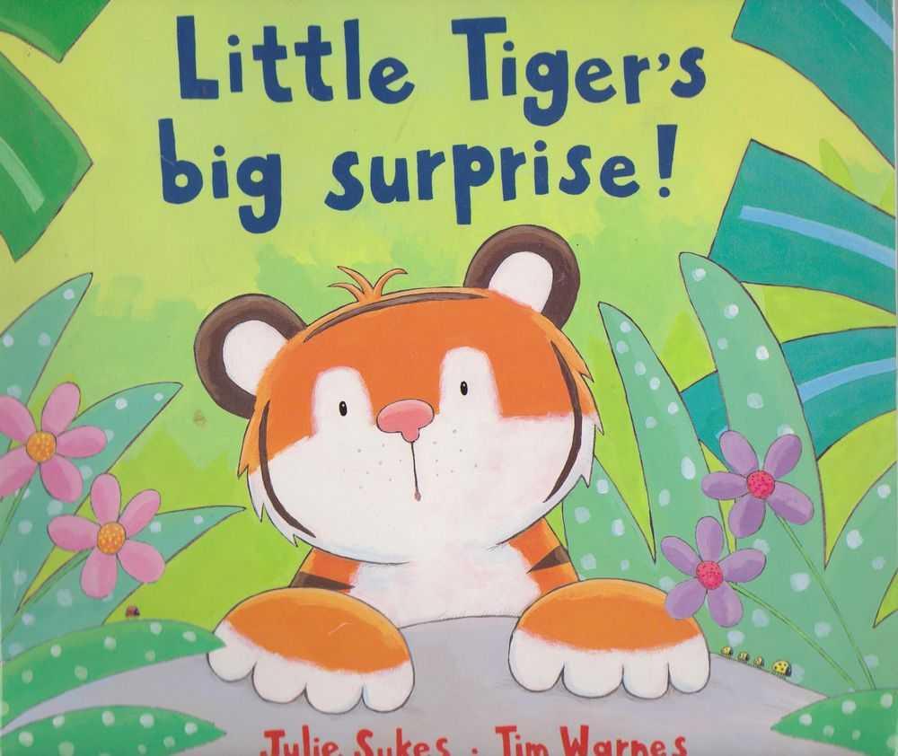 Little Tiger's Big Surprise!, Julie Sykes