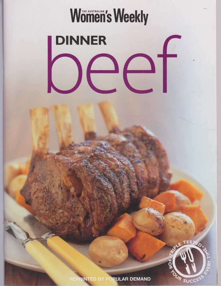 Dinner : Beef, Australian Women's Weekly
