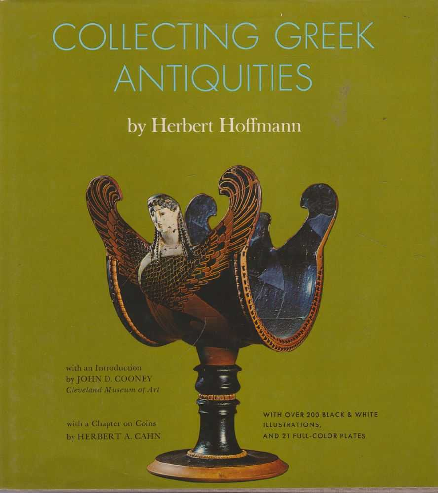 Collecting Greek Antiques, Herbert Hoffmann