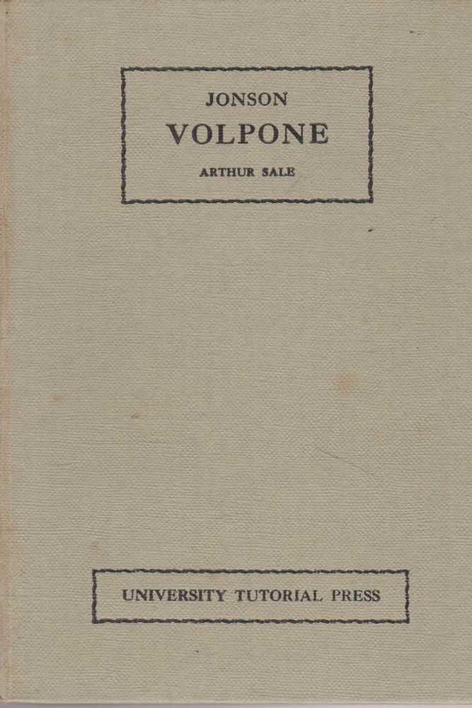 Volpone or The Foxe, Benjamin Jonson