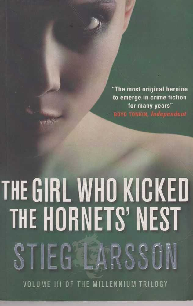 The Girl Who Kicked the Hornet's Nest [Volume III of the Millenium Trilogy], Stieg Larsson