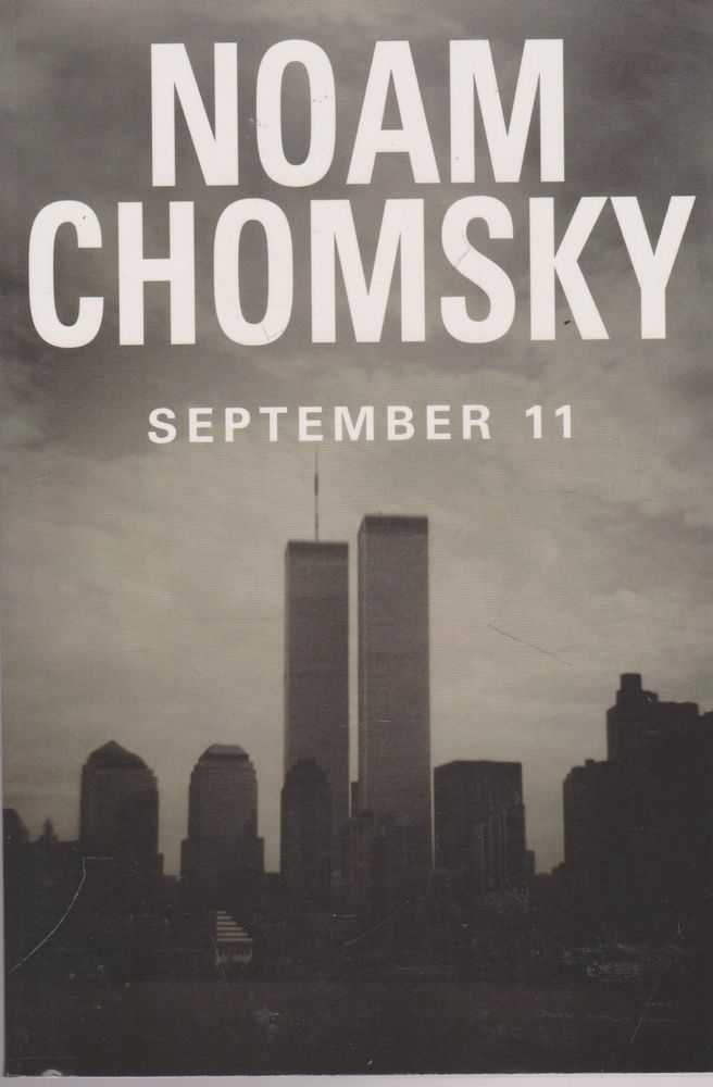 September 11, Noam Chomsky