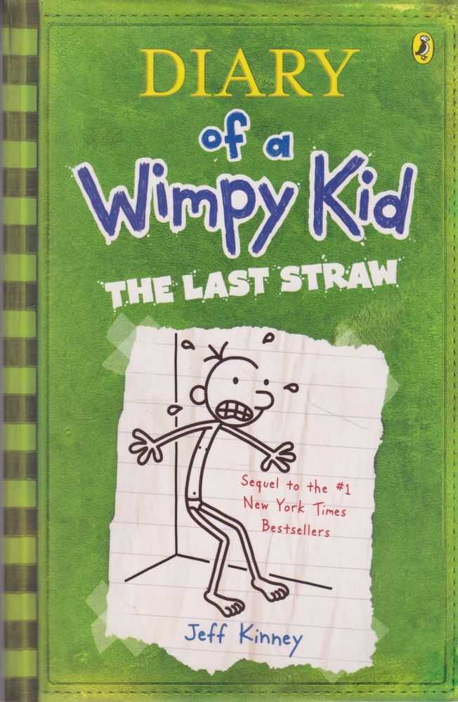 Diary of a Wimpy Kid 3: The Last Straw, Jeff Kinney