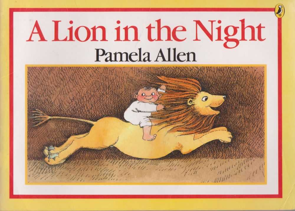 A Lion in the Night, Pamela Allen