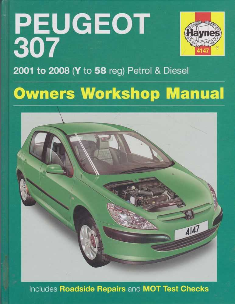 Peugeot 307 2001 to 2008 [Y to 58 Reg] Petrol and Diesel, Martynn Randall