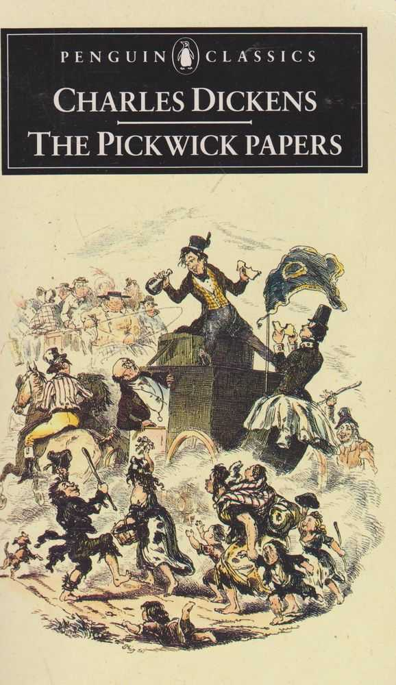 The Pickwick Papers, Charles Dickens