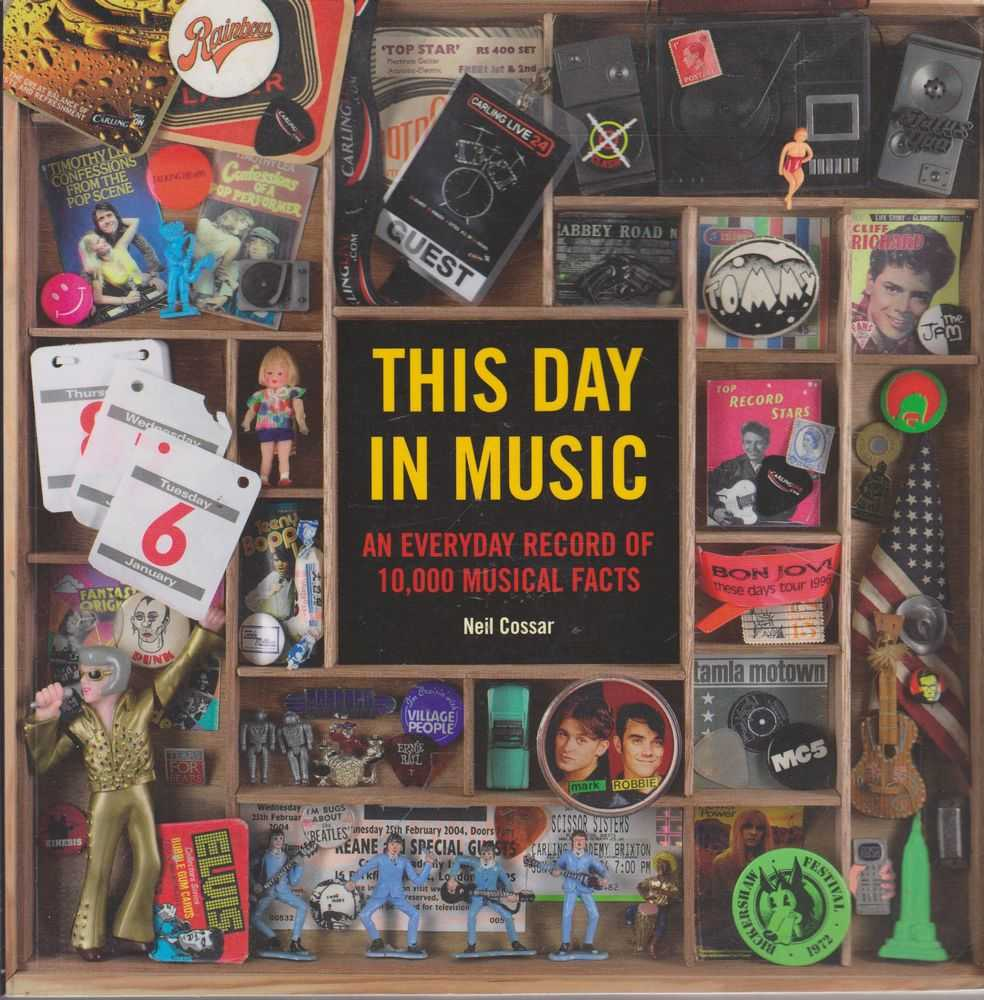 This Day In Music: An Everyday Record of 10,000 Musical Facts, Neil Cossar