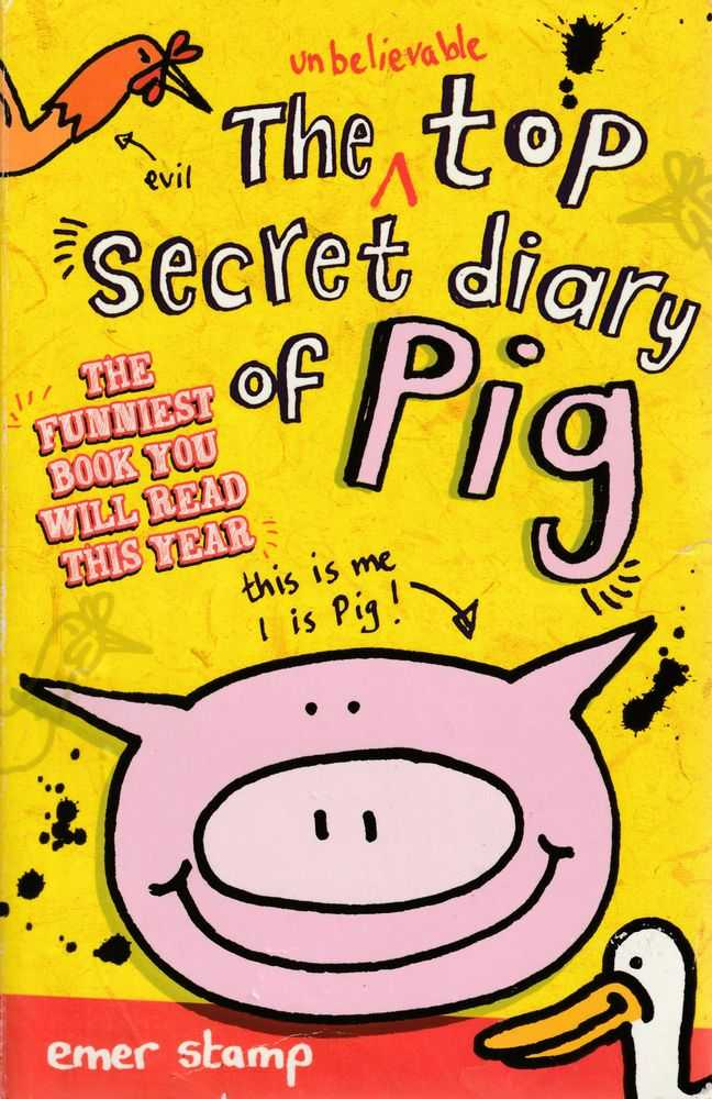 The Unbelievable Top Secret Diary of Pig, Emer Stamp
