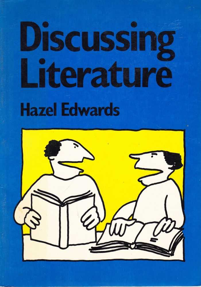 Discussing Literature, Hazel Edwards