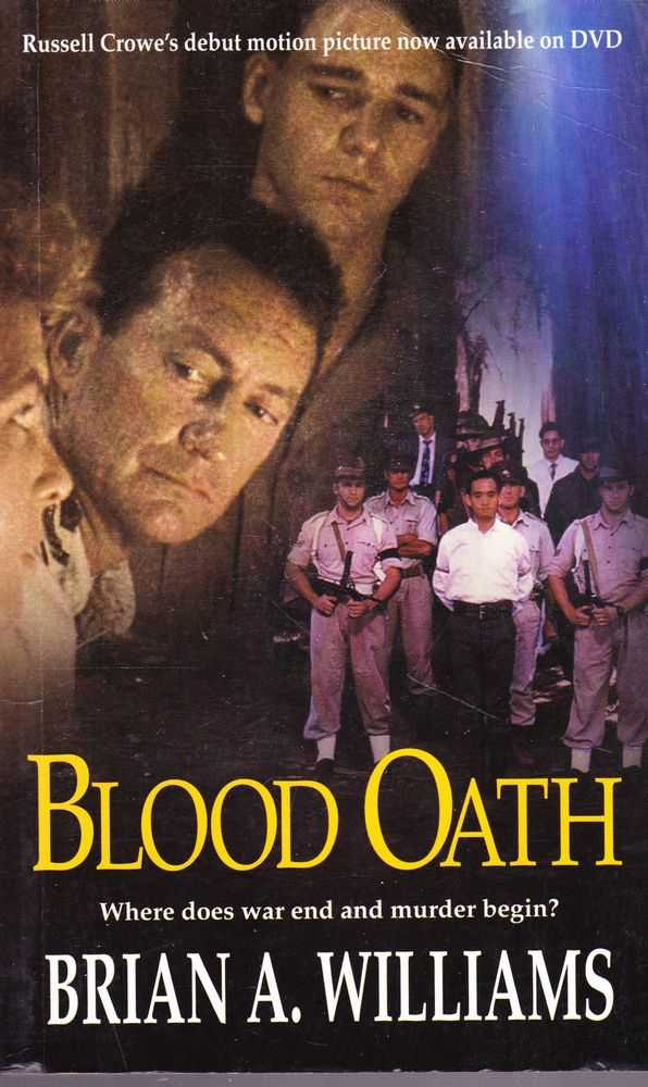 Blood Oath, Brian A. Williams