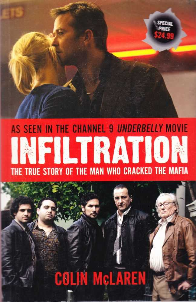 Infiltration: The True Story of the Man Who Cracked The Mafia, Colin McLaren