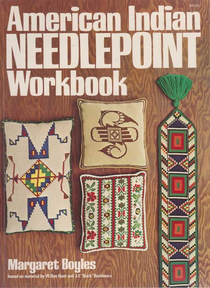 American Indian Needlepoint Workbook, Margaret Boyles