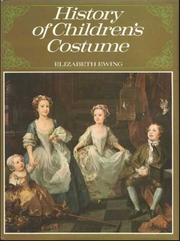 History of Children's Costume, Elizabeth Ewing