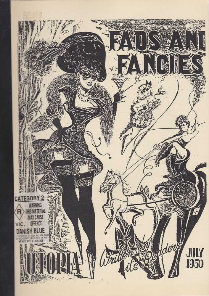Fads and Fancies July 1950 [The Smart Sports and Fashions Monthly], Benson Herbert