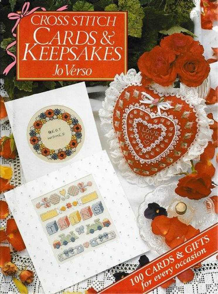 Cross Stitch Cards & Keepsakes, Jo Verso