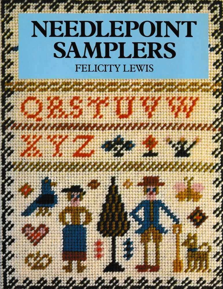 Needlepoint Samplers, Felicity Lewis