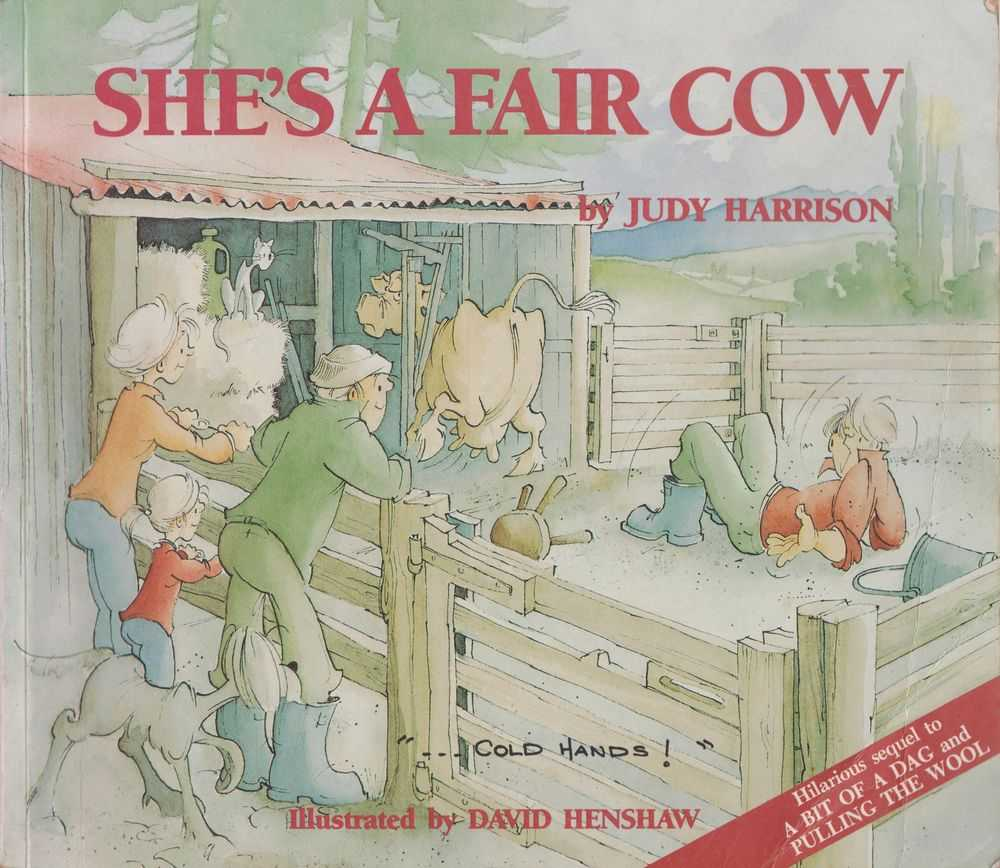 She's A Fair Cow, Judy Harrison