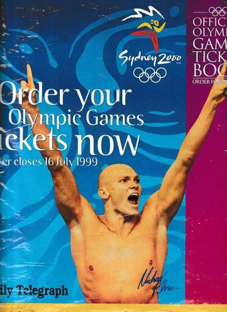 Official Olympic Games Ticket Book - 2000 - Seales., Daily Telegraph