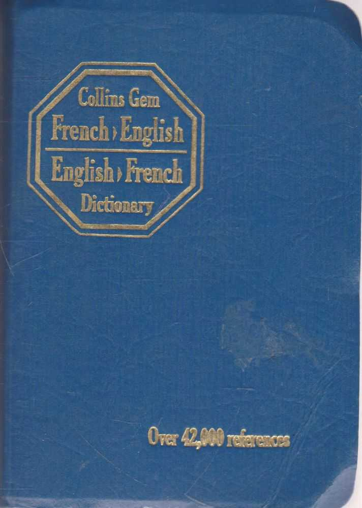 CollinsGem French-English, English-French Dictionary, Gustave Rudler, Norman C. Anderson