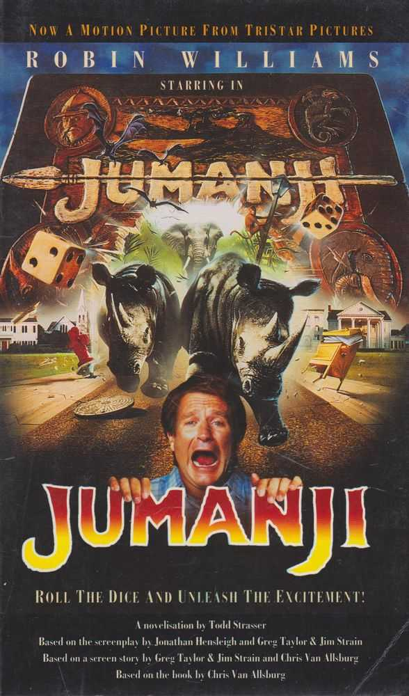 Jumanji: Roll The Dice and Unleash the Excitement, Todd Strasser [Novelisation]