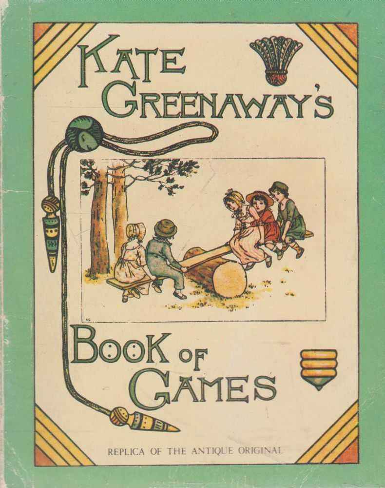 Kate Greenaway's Book of Games, Kate Greenaway